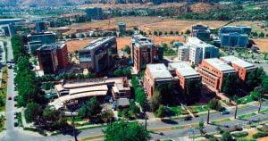 Patio Mayor - Ciudad Empresarial.