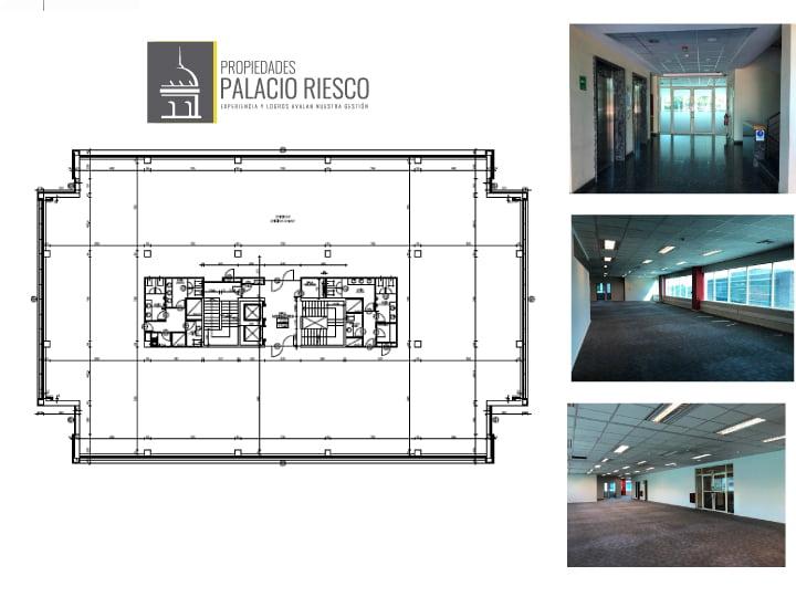 Plano quinto piso