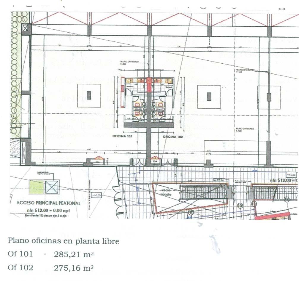 Planos  OF 101-102 Edi Terraza